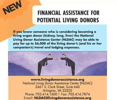 Kidney Donor Funding